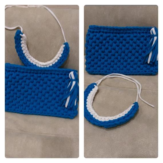 Клатч и ожерелье в комплекте
