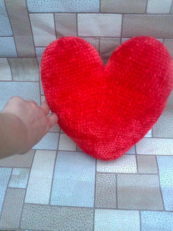 """Подушка декоративная """"Сердце"""""""