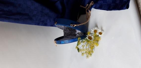 Деревянная сумочка-клатч