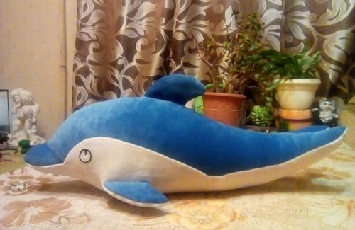 """Игрушка-подушка """"Дельфинёнок"""""""