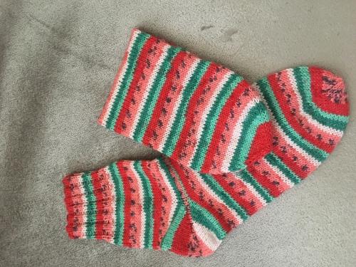 Носки вязаные оригинальные