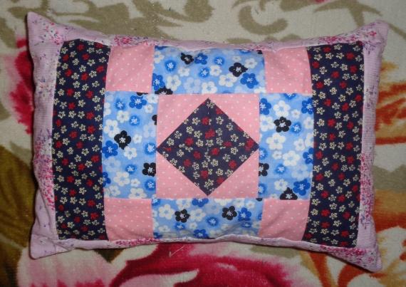 Декоративная подушка Пэчворк