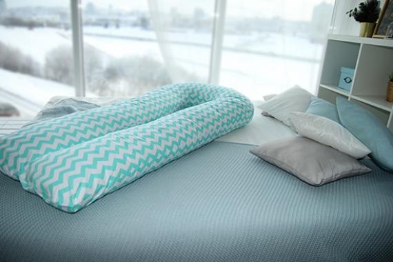 Подушки для Беременных от болей в спине в форме U