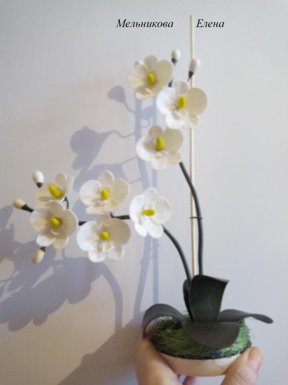 """Интерьерная композиция """"Орхидея"""""""