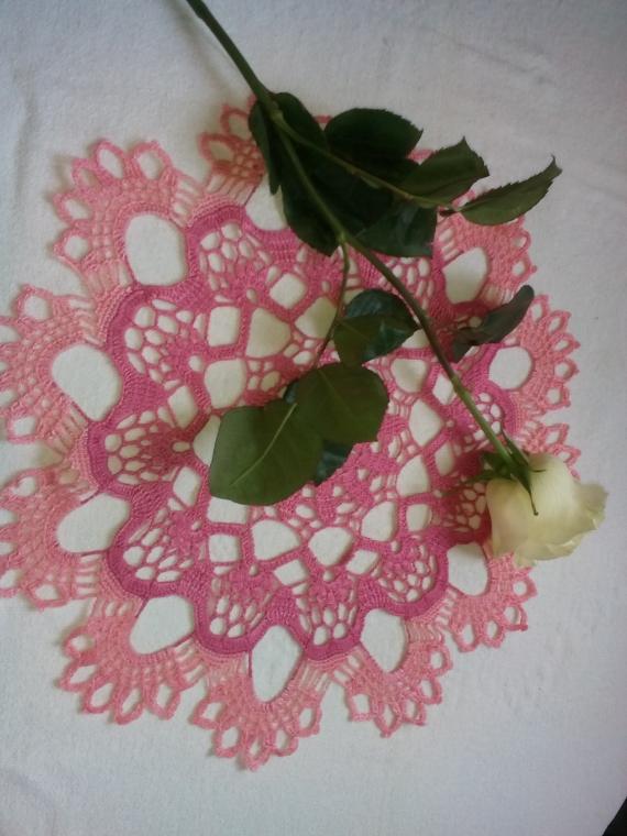 """Салфетка """"Розовое удовольствие"""""""
