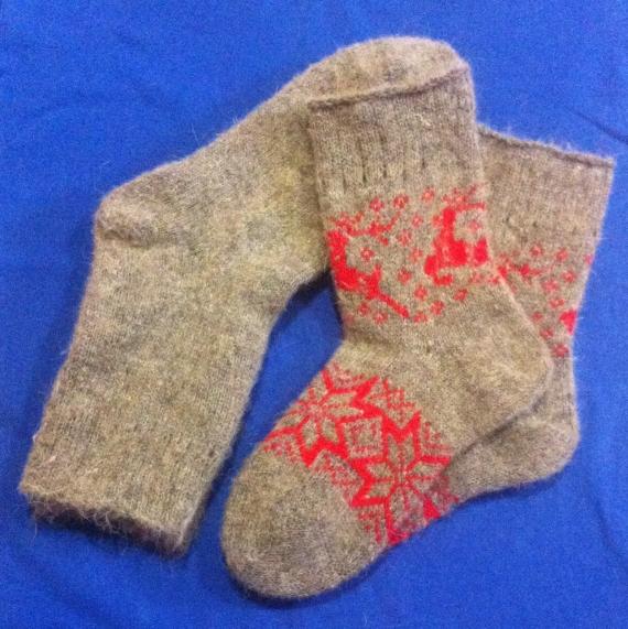 Носки мужские из шерсти