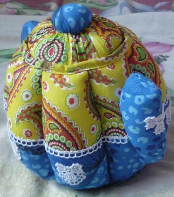 Текстильный чайник.