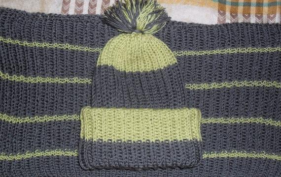 Снуд + шапка