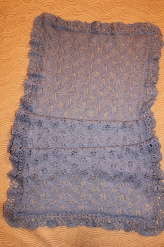 Ажурный шарф