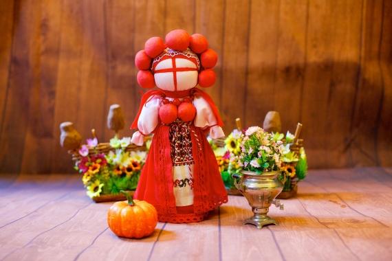 "Кукла ""Кубанская невеста"", или ""Вишенка"""
