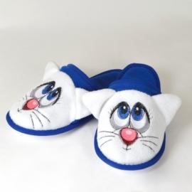 Детские тапочки с вышивкой