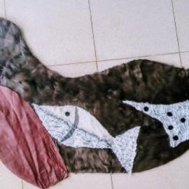 """Прикроватный коврик """"Морской котик"""""""