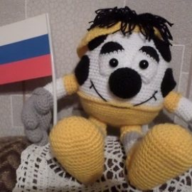 "Мастер-класс ""Футбольный фанат"""
