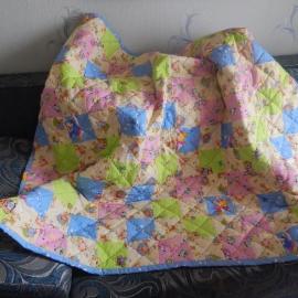 Одеяло детское_Мозаика