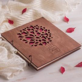 Свадебный альбом из дерева
