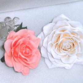 Резинка для волос Роза из фоамирана