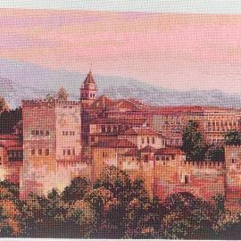 "Вышитая картина ""Альгамбра"""