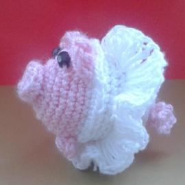 Я.4.2.4.3.3 брелок свинка-балеринка