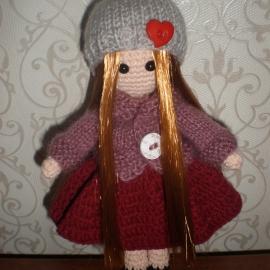 Интерьерная портретная кукла