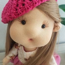 Интерьерная кукла Оленька