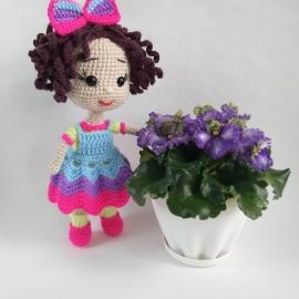 Куколка Фиалка.