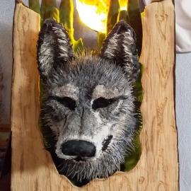 Волк - ночник