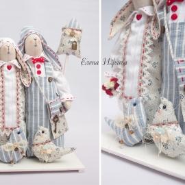 Свадебные зайцы-неразлучники