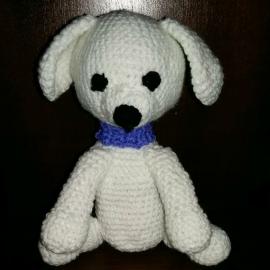 Собачка белая