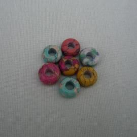 Бусины ( природный камень, подходят для браслета Пандора)  3 вида