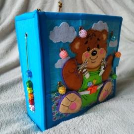 Кубики и книжки: Развивающая книжка для малышей