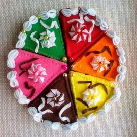 Торт, еда для кукол