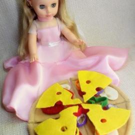 Еда для кукол ПИЦЦА