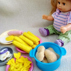 Набор еды для кукол