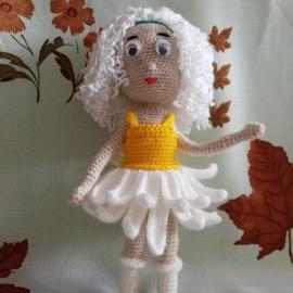 """Кукла """"Ромашка"""""""