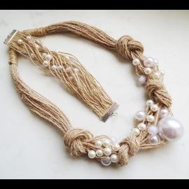 Комплект: ожерелье +браслет