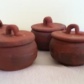 Керамические горшочки