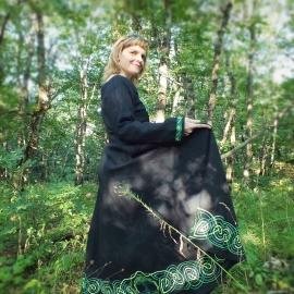 Кельтское средневековое платье Фрея