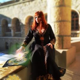 Средневековое льняное платье Вёльва