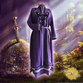 Средневековое льняное платье Меч в камне