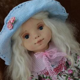 Вероничка. Текстильная кукла