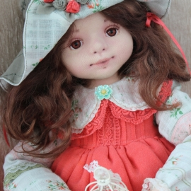 Женечка. Коллекционная кукла