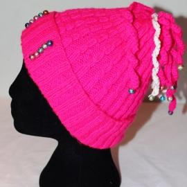 Дестская шапочка розовая