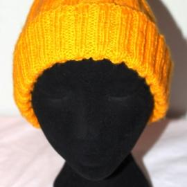 "Детская шапочка ""Желтая"""
