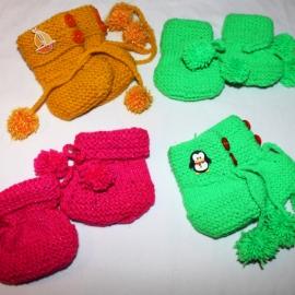 Пинетки - оберег детские выбор различные цвета