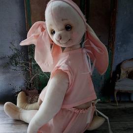 """Зайка """"Нежность"""" в розовом"""