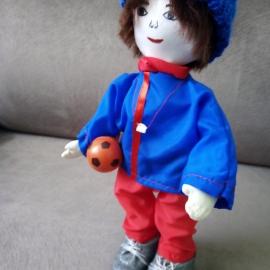 "Кукла ""Учитель физкультуры, Тренер, Футболист"""