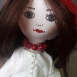 """Кукла """"Красная шапочка"""""""