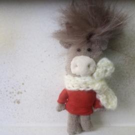 Текстильная игрушка Бычок