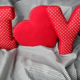 Буквы подушки Именные и разные I love you