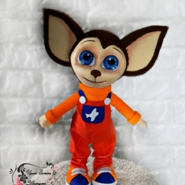 Малыш Барбоскин - интерьерная игрушка